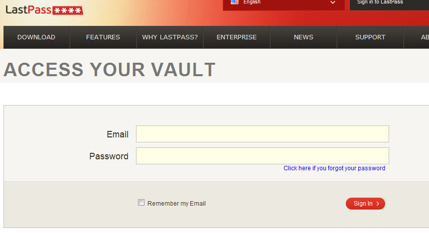 how to delete lost lastpass account