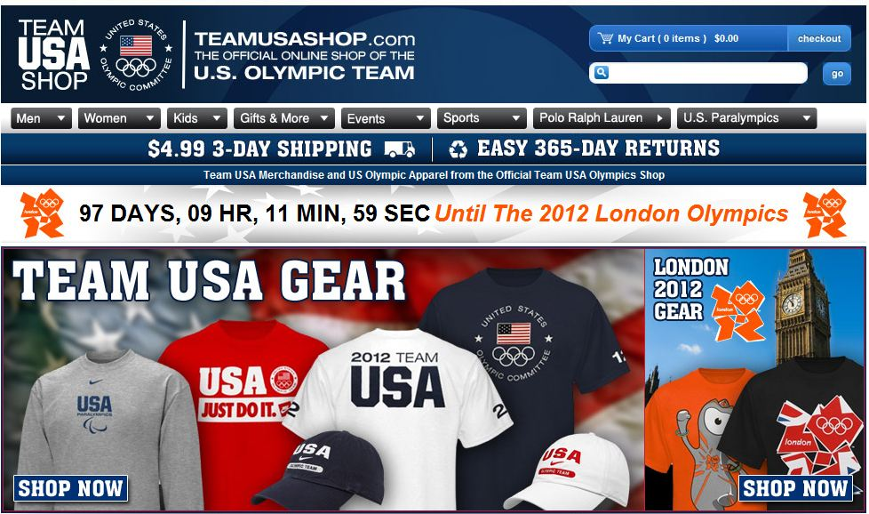 olympic ecommerce remarketing strategy