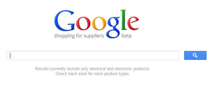 Google Quietly Releases Google Shopping For Suppliers
