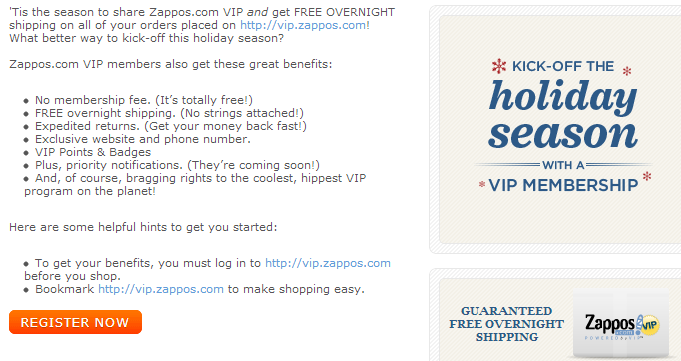 Jun 01,  · Become a VIP can Get Next Day Free Shipping: Ah the magic and mystery of becoming a VIP at Zappos! If you become an actual VIP you'll get free next day shipping /5(5).