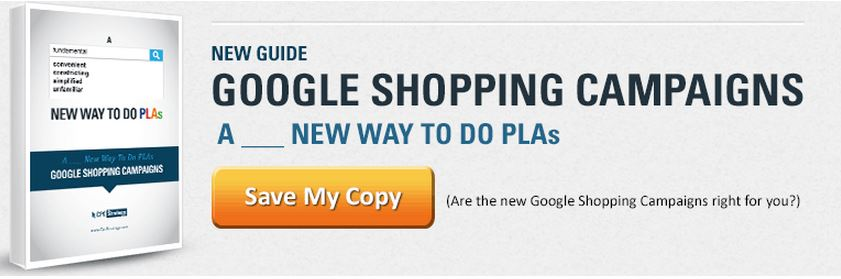 Product Listing Ads, Google Shopping tutorial