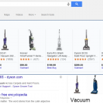 Google testing products in search Carousel