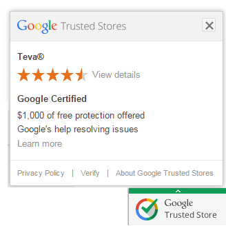 Google Trusted stores site badge